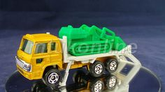 TOMICA 056D HINO DOLPHIN BULLDOZER TRUCK | 1/102 | CHINA | 056D-5 | NO BOX Old Models, Pickup Trucks, Diecast, China, Car, Vehicles, Auction, Automobile, Autos