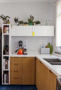 Nichos para cozinha na vertical