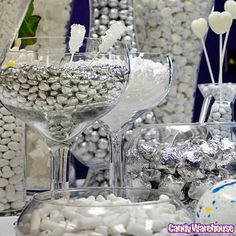 Gold & Silver Candy Buffet | Photo Gallery | CandyWarehouse.com Online Candy Store