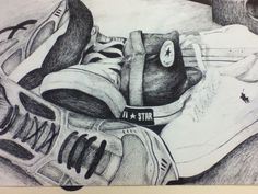 AP Art Shoe Sample Drawing