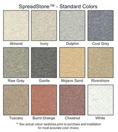 SpreadStone - Decorative Concrete Coating