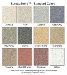 SpreadStone - Decorative Concrete Coating