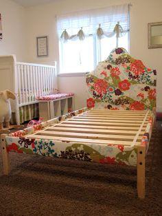 DIY children's bed frame set
