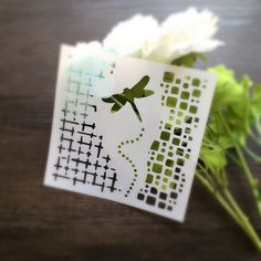 Dragonfly Scrapbooking tool card DIY album masking spray painted template laser drawing stencils 7031430-in Stamps from Office & School Supplies on Aliexpress.com | Alibaba Group