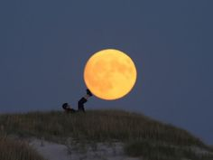 Giocare con la luna!