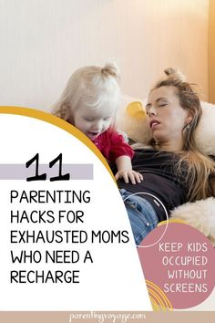 You know those moments as a mom, when you�re just too tired and it all feels like too much? Here are some powerful quick fixes to get you through that exhaustion. Use these fun activities instead of screen time to give you the time you need to recharge.