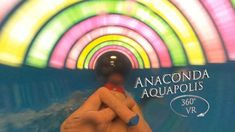 Napfényfürdő Aquapolis Szeged Anaconda (blue Tower) 360° VR POV Onride Anaconda, Water Slides, Vr, Tower, Make It Yourself, Blue, Computer Case, Towers, Green Anaconda
