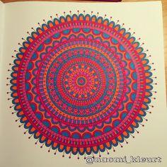 Het tweede enige echte mandala kleurboek voor volwassenen, mandala, kleuren voor volwassenen, stabilo