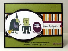 Halloween Characters by kathleenh - Cards and Paper Crafts at Splitcoaststampers