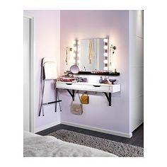 IKEA - KOLJA, Spegel, , , Försedd med säkerhetsfilm - minskar risken för skador om glaset splittras.