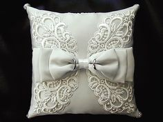 ateliersarah's ring pillow                                                                                                                                                                                 More