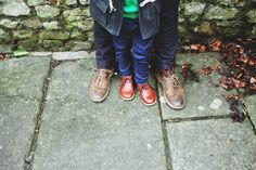 Abigail and the Future: Sunday adventures | Father and son Clarks Desert Boots