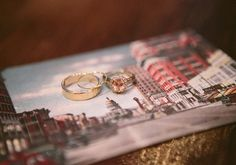 Peach colored diamond ring | photo by Taylor Lord | 100 Layer Cake