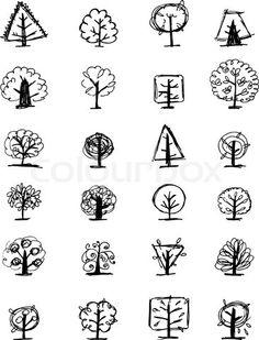 cute trees!...