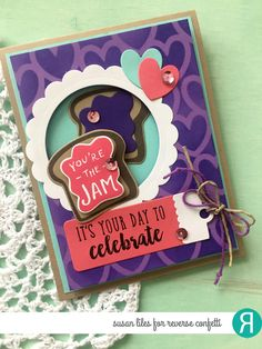 August Blog Hop from Reverse Confetti