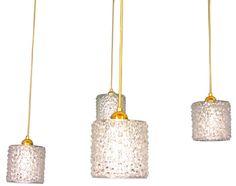 Italian Set of Four Crystal Pendant Lights Crystal Pendant Lighting, Pendant Light Fixtures, Ceiling Lights, Crystals, Home Decor, Pendant Lights, Homemade Home Decor, Ceiling Light Fixtures, Ceiling Lamp