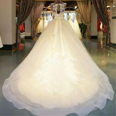 New lace White/ivory Wedding dress Bridal Gown custom size 6 8 10 12 14 16 18+++
