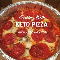 Keto Pizza is how I satisfy my pizza cravings while on a keto/low carb diet!