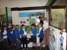 School children discover the importance of the North Devon Biosphere at the Braunton Countryside Centre