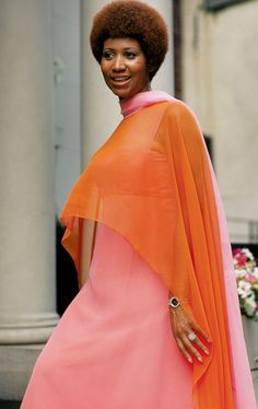 Aretha...u better color block m'am! proof that all things good return in time