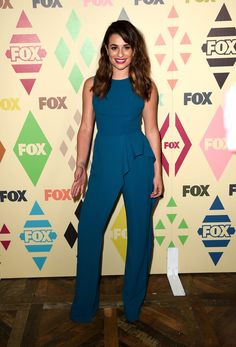 Actress Lea Michele arrives at the FOX TV All-Star party during the 2015 Summer TCA Tour at Soho House on August 6, 2015 in West Hollywood, California.