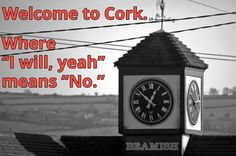 Cork Slang can take some getting used to!