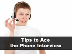 A phone interview seems so informal on the surface that it can be easy to fall into the trap of not being as prepared for it as you would for an in-person interview. Don't get caught with your guar.
