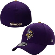 Minnesota Vikings New Era 39THIRTY Team Classic Flex Hat – Purple edbeb679b70