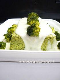 mmm...buonissimo!: Sformato di broccoli in salsa di pecorino