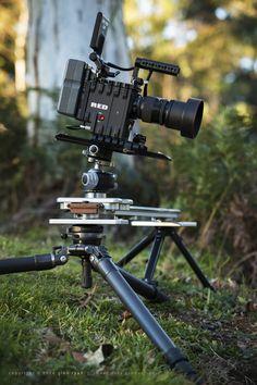 Trost Motion slider with IR Epic-X - shooting 'Brindabellas'