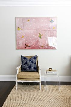 Framed beauty: http://www.stylemepretty.com/living/2015/03/04/45-reasons-pink-is-the-new-black/