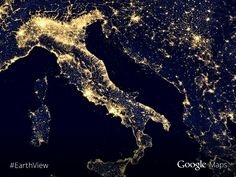 Lights over Italy