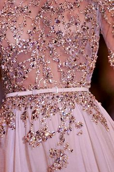 Elie Saab Haute Couture and glitter!!!