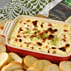 Sub out the sour cream for Greek Yogurt to make this dip lighter, and just as yummy.