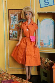 f00f7bdf Vintage American Girl in Fashion Pack Playsuit and Gathered skirt Girl  Barbie, Mattel Barbie,