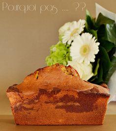 Pourquoi pas .... ??: Cake marbré