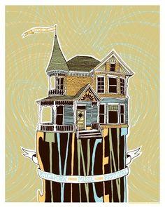 St. Vincent Silkscreen Concert Poster 16 x 20 Pitchfork Music Festival - Limited Edition