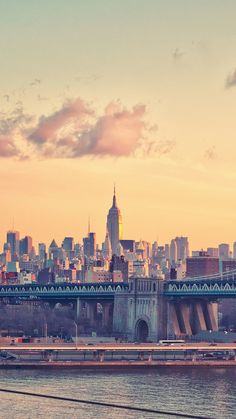 New-york-manhattan-bridge-iPhone-Wallpaper