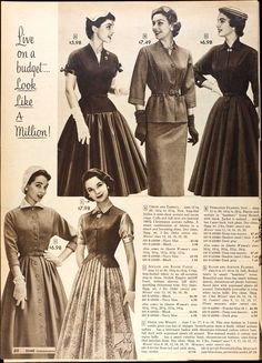 Sears & Roebuck Fall 1955