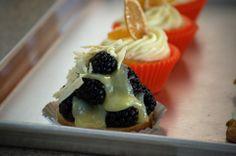 Tarta de blueberry y chocolate blanco #VanilaYXocolatl