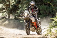 Contradicting the maxim of bigger is better, the KTM 1090 Adventure R downsizes displacement to achieve massive gains in off-road performance.