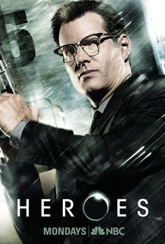 9ff58e78d5 Jack Coleman - who played the man with the horn rimmed glasses - will  return for NBC s  Heroes  Reborn  miniseries.