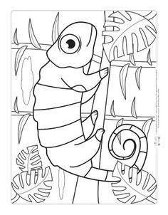 20 Awesome Jungle Coloring Pages Images Coloring Books Coloring
