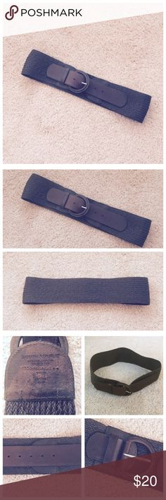 """Brown Leather Belt Worn, but in decent shape! Measures 40"""" in length. Banana Republic Accessories Belts"""