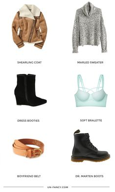 Winter wardrobe planning is in full swing over here! (If you're curious why so early -- here's your answer.) I have the clearest vision for my winter wardrobe. Two words: comfort + warmth. Shearlin...