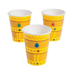 Knight Party Supplies: Knight's Kingdom Cups 8pk Party Supplies Canada & Halloween Supplies Canada - Open A Party