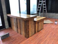 91 best rustic reception desks retail sales counters and pos barn rh pinterest com