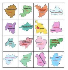 Játékos tanulás és kreativitás: Magyarország megyéi - játékok Learning Games, Kids Learning, Geography, Techno, Preschool, Education, Children, Montessori, Weather
