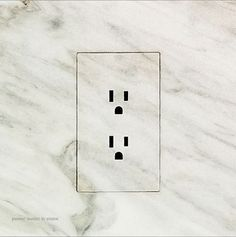 Trufig PERFECT OUTLET COVER in stone
