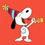 Snoopy's Birthday Blast! eCard - Hallmark eCards Snoopy Birthday, Birthday Greetings, Birthday Blast, Hallmark Greeting Cards, Ecards, Birthdays, Gift Wrapping, Christmas Ornaments, Holiday